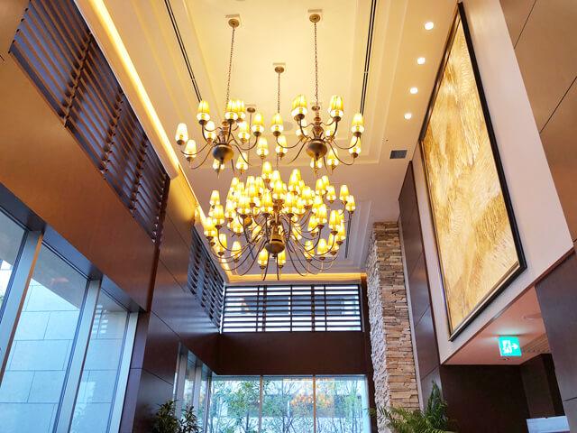 ラソールガーデンリアトゥーナテラスサブルーム天井