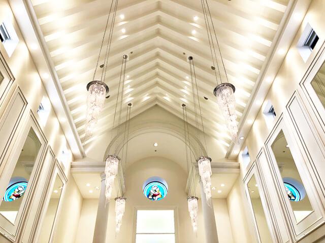 アルカンシエルベリテチャペル天井