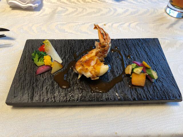 ラソールガーデン料理魚