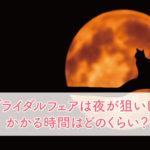 ブライダルフェアは夜が狙い目!かかる時間はどのくらい?