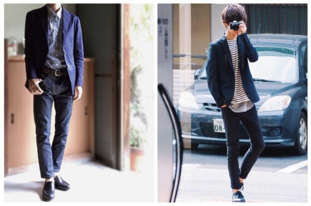 男性の服装